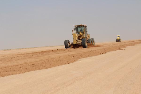 استكمال مراحل مشروع مياه القرى الشامل بمنطقة حائل مرحلة 2- أ الخط الناقل من الخط الرئيسي الى وسيطاء الحفن والمستجدة والوهيبية